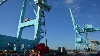 jax-port-cranes